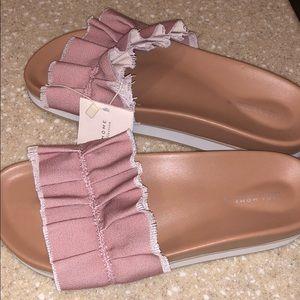 Tiny platform sandals